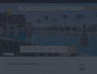 montecarlobeachclub.ae screenshot