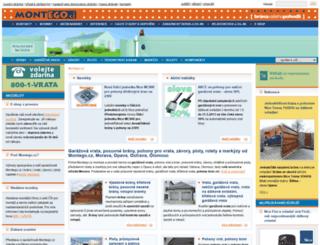 montego.cz screenshot