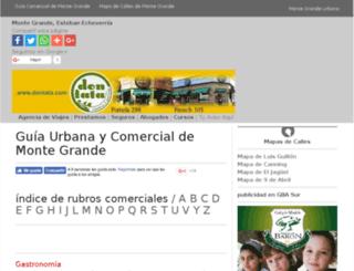 montegrandeurbano.com.ar screenshot