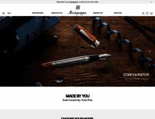 montegrappa.com screenshot