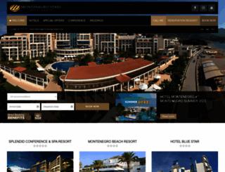 montenegrostars.com screenshot