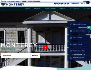 monterey.org screenshot