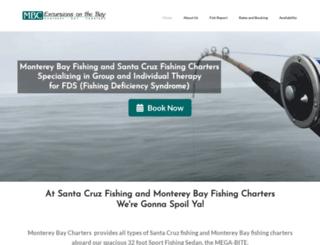montereybaycharters.com screenshot