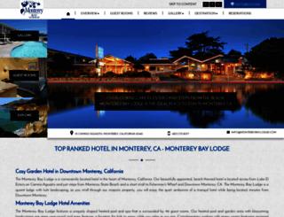 montereybaylodge.com screenshot