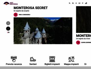 monterosa-ski.com screenshot
