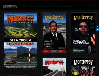 monterreymagazine.com.mx screenshot