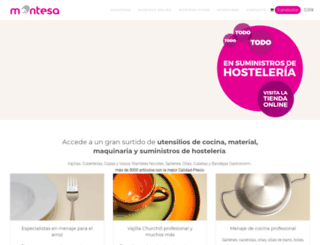 montesahosteleria.com screenshot