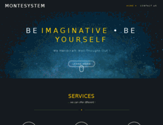 montesystem.com screenshot