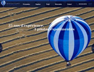 montgolfieres-gascogne.fr screenshot