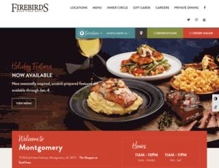 montgomery.firebirdsrestaurants.com screenshot