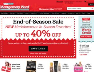 montgomeryward.com screenshot