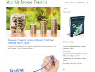 monthlyincomeformula.com screenshot
