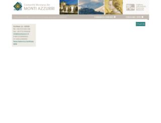 montiazzurri.it screenshot