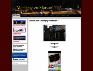 montigny-en-morvan.fr screenshot