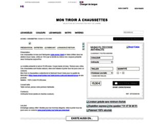 montiroirachaussettes.com screenshot