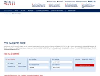 montmartre-paris-france.com screenshot