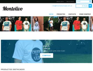 montolivo.tiendanube.com screenshot