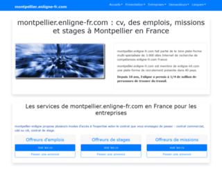 montpellier.enligne-fr.com screenshot