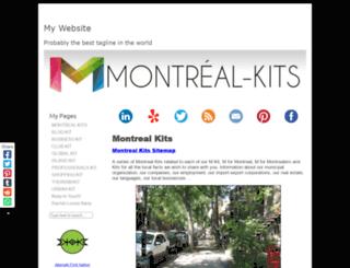 montreal-professionals-kit.com screenshot