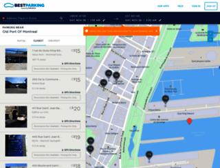 montreal.bestparking.com screenshot
