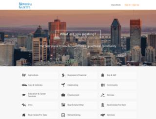 montrealgazette.adperfect.com screenshot