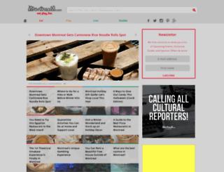 montreall.com screenshot