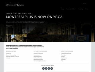 montrealplus.ca screenshot