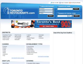 montrealsrestaurants.com screenshot