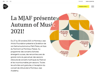 montreuxjazz.com screenshot