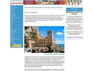 montserrat-tourist-guide.com screenshot