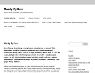monty-python.pl screenshot