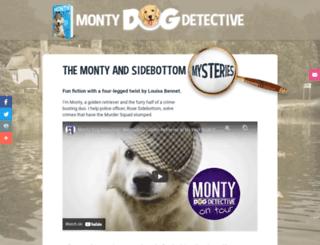 montydogdetective.com screenshot
