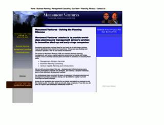 monumentventures.com screenshot