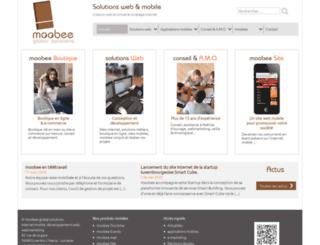 moobee.fr screenshot