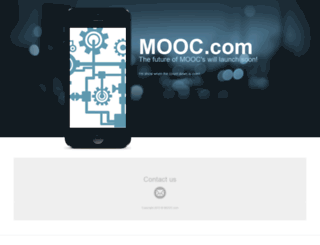 mooc.com screenshot