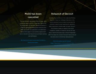 moodbrussels.com screenshot