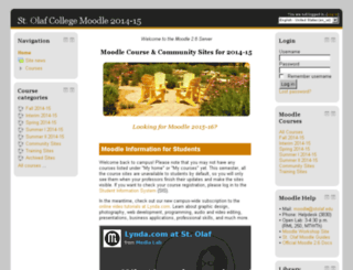 moodle-2014-15.stolaf.edu screenshot