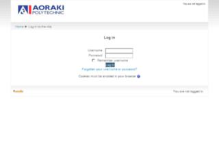 moodle.aoraki.ac.nz screenshot