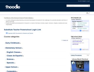 moodle.aspv.edu.mx screenshot