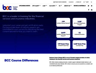 moodle.businesscareercollege.com screenshot