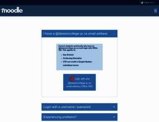 moodle.dawsoncollege.qc.ca screenshot