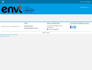 moodle.envt.fr screenshot