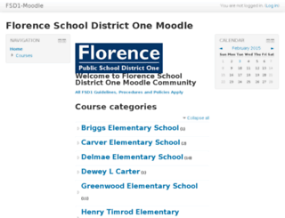 moodle.fsd1.org screenshot