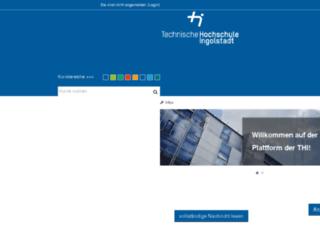 moodle.haw-ingolstadt.de screenshot