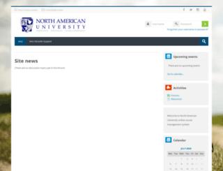 moodle.na.edu screenshot