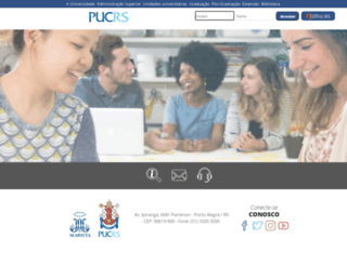moodle.pucrs.br screenshot