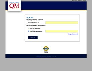 moodle.qmprogram.org screenshot