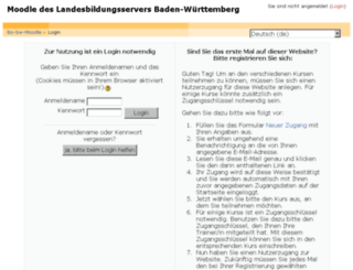 moodle.schule-bw.de screenshot