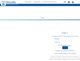 moodle.ssis.edu.vn screenshot