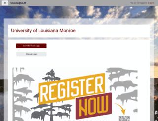 moodle.ulm.edu screenshot